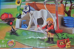 Playmobil Horse Washing Station