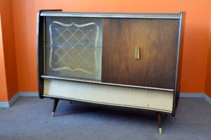Vintage Blaupunkt Console Stereo and Bar