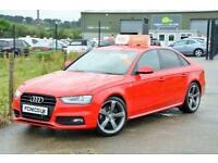 2012 12 AUDI A4 2.0 TDI S LINE BLACK EDITION 141 BHP *£30 A YEAR TAX*