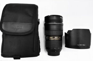 Nikon AF-S NIKKOR 24-70mm f/2.8 G ED VR Lens +Case+UV Filter