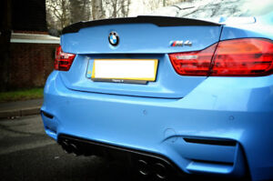 BMW F82 M4 MP Style Carbon Fiber Rear Trunk Spoiler Wing