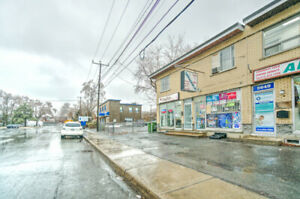 MONTREAL NORD SEMI-DETACHED COMMERCIAL BUILDING FOR SALE.