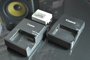 Canon Battery Charger(s) + Battery Pack