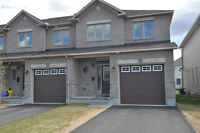 End unit, 3 beds 3 baths located in Orleans Bradley Estates