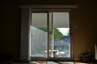 White Vertical Blinds for Patio Door