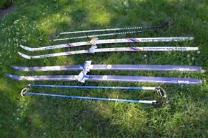 Fischer Cross Country Skis and Poles for sale