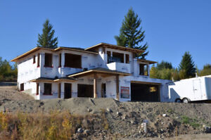 Brand New Home in Shuswap's Beautiful  Blind Bay, BC!