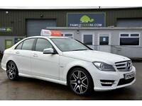 2012 MERCEDES-BENZ C CLASS 2.1 C220 CDI BLUEEFFICIENCY SPORT ED125 4D 170 BHP DI