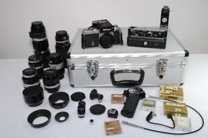 Nikon complete system Including the Case.