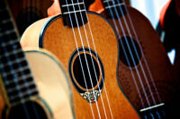 Ukulele Group Lessons for Beginners starting Oct 2nd at 8:00pm