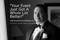 AMAZING ENTERTAINMENT FOR RECEPTIONS, COMPANY EVENTS, FUNDRAISER