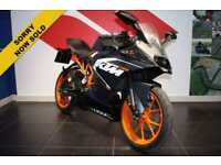 2015 15 KTM RC 125 RACE REPLICA MATT BLACK