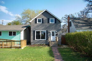 Newly renovated 3 bedrm, 2 full bath home in Old St Vital
