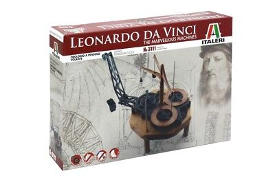 ITALERI 3111 - LEONARDO DA VINCI MARVELLOUS MACHINES - FLYING PENDULUM CLOCK