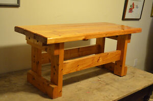 Solid Pine Coffee Table/Bench-Great Piece!