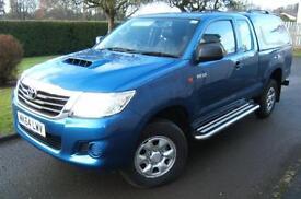 Toyota Hi-Lux Extra Cab 2.5D-4D 4WD Active 2014 64 reg with 16k miles NO VAT!