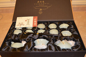 Authentic and Stamped Cangyou Ci Ceramic Teaset