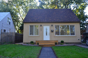 Fully Renovated 1 1/2 Storey House - A Must See
