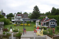 Lovely 2 story waterfront home with walkout basement Port Perry