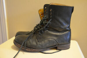 Frye Men's Leather Shoes Combat , Very Trendy Designer Boots