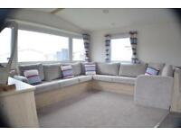 New 2 bed static caravan avilable now 12 month site near Durham sea views