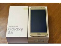 Samsung Galaxy S6 32GB unlocked any network ***good condition in box***100% original phone***