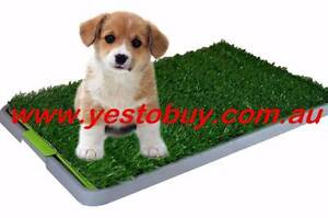 Portable Indoor Pet Dog Puppy Potty Training Toilet Large Loo Pad Oakleigh Monash Area Preview