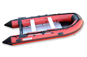 12.5 ft inflatable BOAT HEAVY DUTY 1.2 mm PVC HOT WELDED NEW
