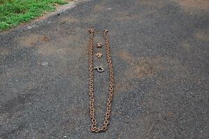 chaine de 16 pieds et chaine de 12 pieds