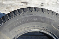Winter tires 265/70R16