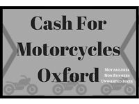 Motorcycle wanted. Looking for non runners and mot failures. Motorbikes