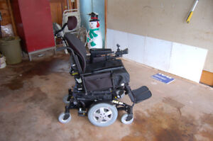 Invacare TDX-SP power wheelchair