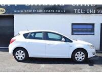 2011 VAUXHALL ASTRA EXCLUSIV HATCHBACK PETROL