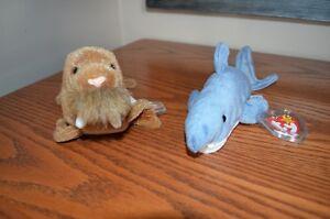 Ty Beanie Babies *Retired & Rare* - Set of 7 Ocean Creatures II Sarnia Sarnia Area image 2