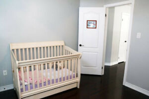 High end Crib, Toddler Bed, Double Bed, (3-in-1)