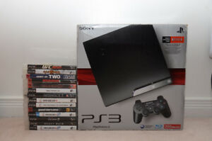 Play station 3 (PS3) Go 250 GB with 14 Games