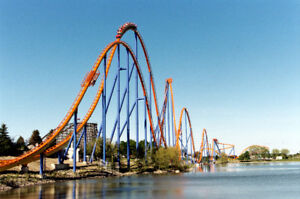 4 Canada's Wonderland tickets