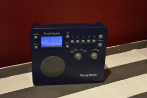 Tivoli Audio Songbook AM/FM Radio in Blue with matching case