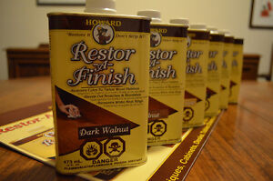 Howard's Restor-A-Finish product line!