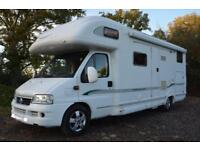 6 Berth 2003 Bessacarr E735 motorhome For Sale with large garage