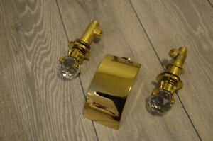 Batroom tub or sink waterfall  faucet, gold