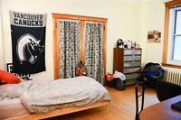 SUBLETTING 4-1/2 apartment (can rent 1 room separately!)