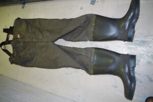 Wader boot size 12, insulated.Used one season
