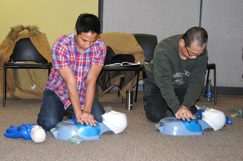 First Aid and CPR classes - 50% online, 50% with an ...