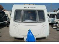 2010 Swift Challenger 570-4 Berth-Fixed Bed & End Washroom-Touring Caravan SOLD