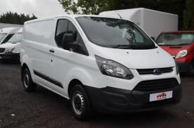 16 FORD Transit Custom 2.2 TDCi 100ps L1 H1 Short Wheel Base Low Roof Panel Van