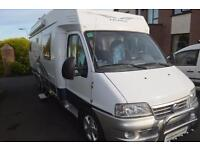 2004 Hobby 700 FML. LHD. Left Hand Drive. Fixed Bed. 3 Berth. Fiat 2.8 JTD.