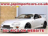 TOYOTA SUPRA STUNNING 5 SPEED MANUAL SZ HSD COILOVERS TRD SPOLIER RIMS ETC ETC,