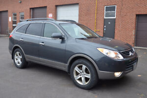 2012 Hyundai Veracruz Limited AWD, Leather, Sunroof, No Accident