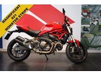 2015 15 DUCATI MONSTER M821 CC STRIPE